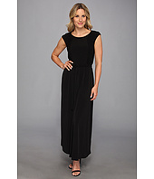 Calvin Klein - Cap Sleeve Maxi Dress w/ Lace
