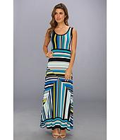 Calvin Klein - Printed Matte Jersey Maxi Dress