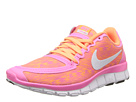 Nike - Free 5.0 V4 (Pink Glow/White/Atomic Orange)