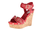 GUESS - Lalai (Red Leather) - Footwear
