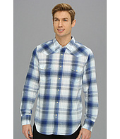 Lucky Brand - Bone Blue Plaid Western
