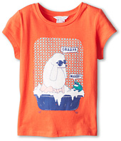 Little Marc Jacobs - Poodle And Frog Bath Tub S/S Tee (Little Kids/Big Kids)