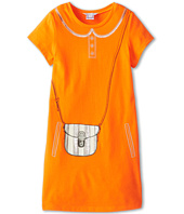 Little Marc Jacobs - Jersey Purse And Pocket Print S/S Dress (Little Kids/Big Kids)