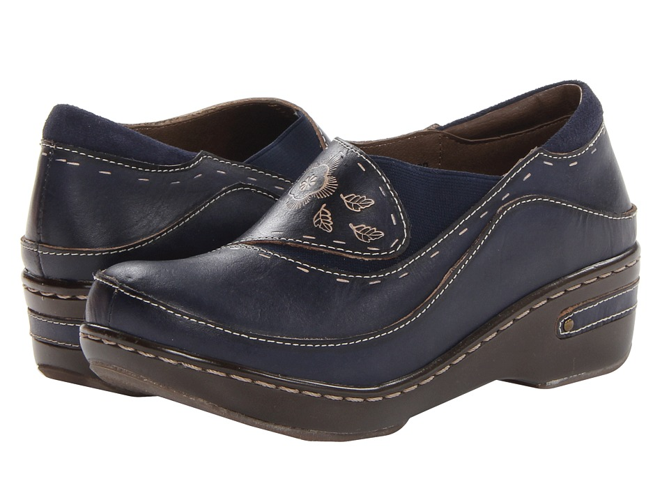 Spring Step Burbank (Navy) Women