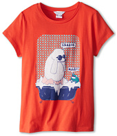 Little Marc Jacobs - Poodle And Frog Bath Tub S/S Tee (Big Kids)