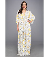 Rachel Pally Plus - Plus Size Long Caftan Print Dress