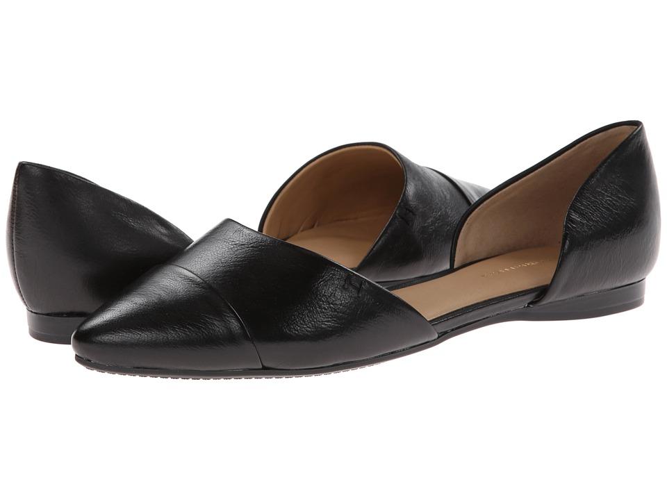 Tommy Hilfiger Naree3 (Black Nappa Lea) Flats