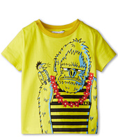 Little Marc Jacobs - Gorilla Print S/S Tee (Toddler/Little Kids)