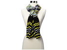 Missoni - Orazia Scarf (Black/Indigo) - Accessories at Zappos.com