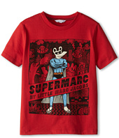 Little Marc Jacobs - Supermarc Printed S/S Jersey Tee (Little Kids/Big Kids)