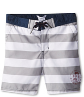 Little Marc Jacobs - Striped Swim Trunks In A Bag (Little Kids/Big Kids)