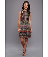 Ivy & Blu Maggy Boutique - Sleeveless Textured Tribal Print