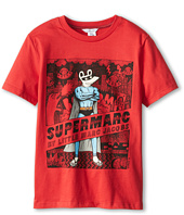 Little Marc Jacobs - Supermarc Printed S/S Jersey Tee (Big Kids)