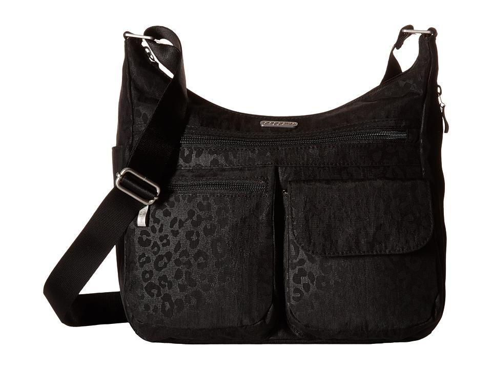 Baggallini - Everywhere Bag (Cheetah Black) Cross Body Handbags