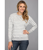 MICHAEL Michael Kors - Stripe Dropped Shoulder French Terry Sweatshirt