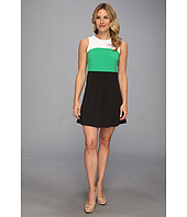 MICHAEL Michael Kors - Color Block Double Weave Crepe Seamed Dress