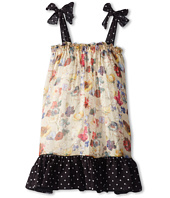 Dolce & Gabbana - Printed Chiffon Dress (Big Kids)
