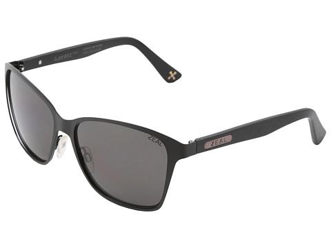 Zeal Optics Laurel Cyn Polarized - Matte Black/Dark Grey Polarized Lens