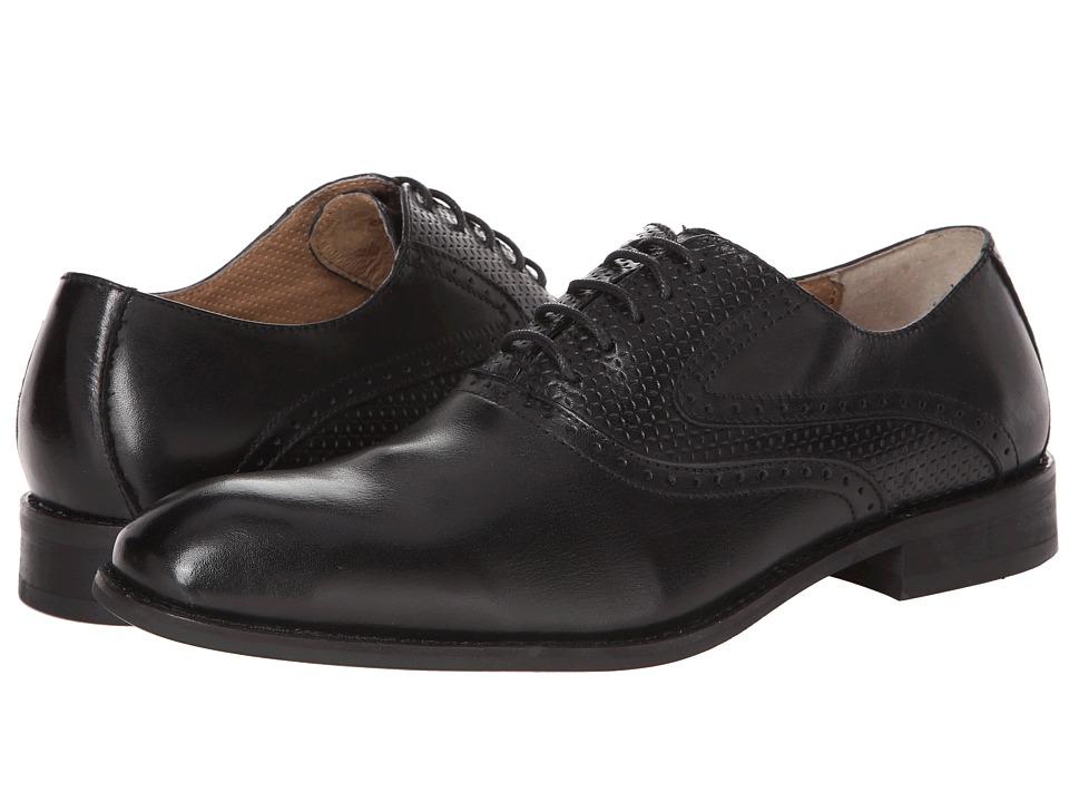 Robert Wayne Eddy Black Mens Shoes