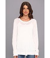 Calvin Klein - Pullover Viscose Blend w/ Linen Sweater