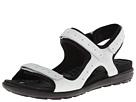 ECCO - Jab Strap Sandal (White/Black) -