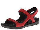 ECCO - Jab Strap Sandal (Chili Red/Black) -