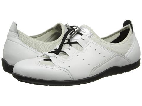 ECCO - Bluma Toggle (White/Shadow White) - Footwear