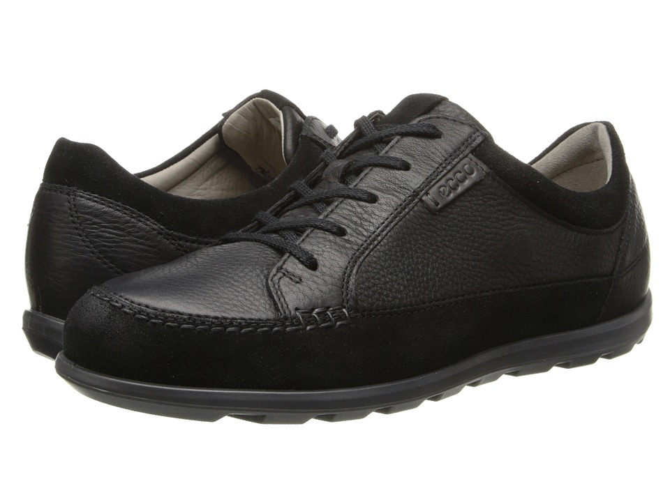 Image of ECCO Cayla Tie (Black/Black) Women's Lace up casual Shoes