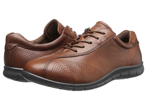 ECCO - Babett Tie (Mahogany) - Footwear