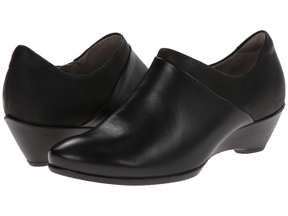 ECCO - Sculptured 45 W Slip On (Black/Black) Women