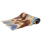 LAUREN Ralph Lauren - Washed Ikat Scarf (Denim)