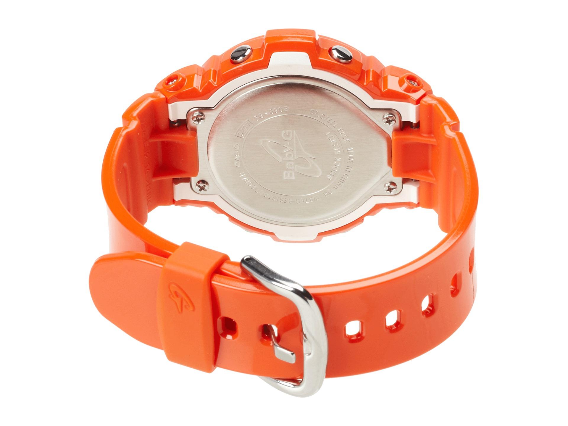 G Shock Baby G Vivid Color Orange