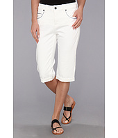 Miraclebody Jeans - Rhonda Rolled Bermuda in White