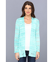 Miraclebody Jeans - Fresco Wash Boyfriend Cardi Twin Set w'/ Body-Shaping Inner Shell