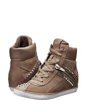 Coach Mellow Womens Khaki Signature Logo Flat Loafer Sneaker Shoes