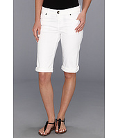 KUT from the Kloth - Roll Up Bermuda in White
