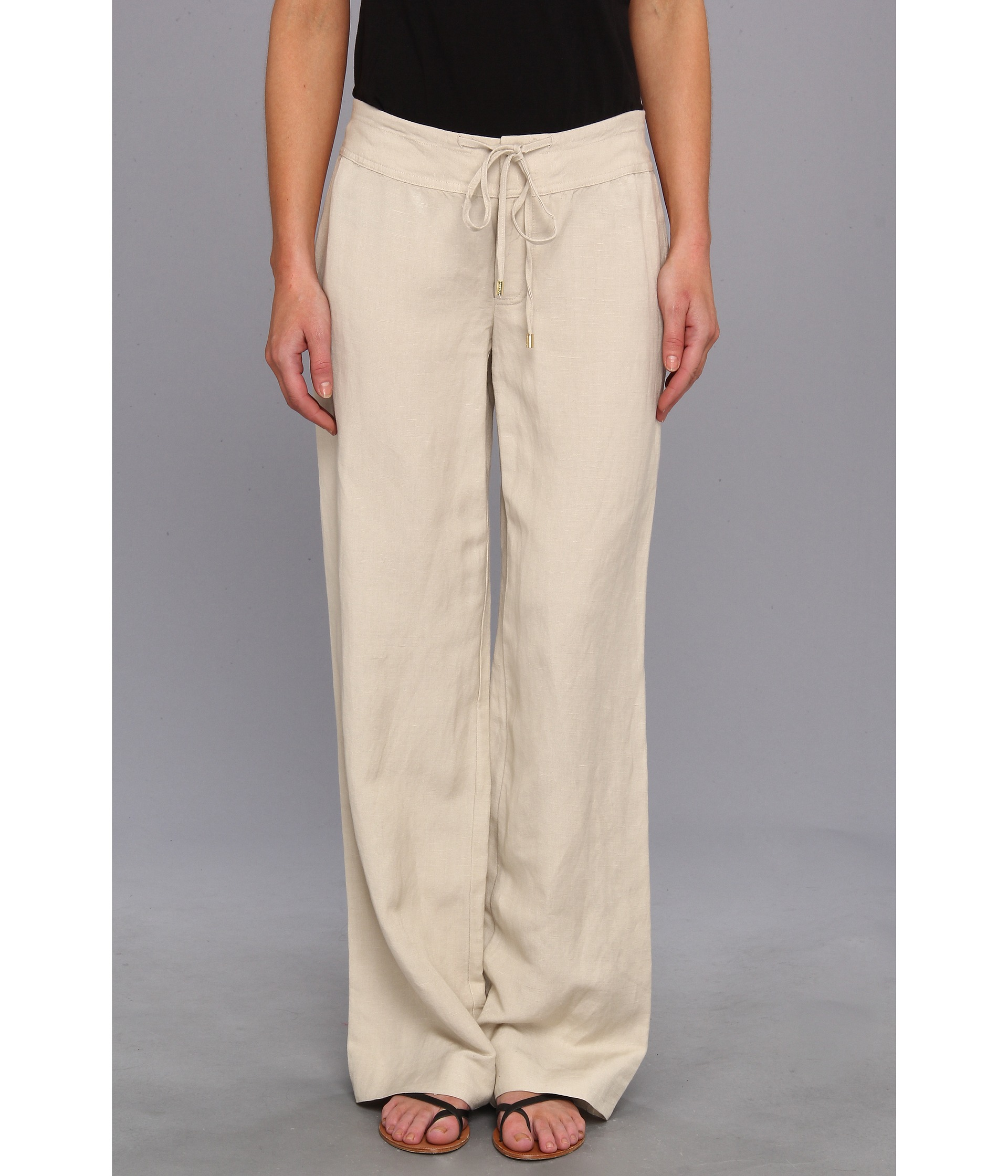 Popular Elastic At The Back Waist,side Seam Pocket Fabric100%Linen ColorsGray Strip,Khaki Strip Size Waist66cm90cm  26&quot354&quotHip160cm  63&quotPants Length 82cm  323&quot Laylaliu 8 Mins Ago Elastic At The Back Waist,side Seam Pocket