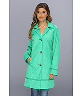 Vince Camuto - Grosgrain Trimmed Walking Coat F8081