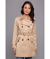 Vince Camuto - Double Breasted Shimmer Trench