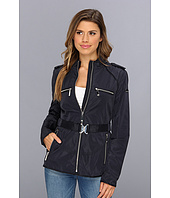 Vince Camuto - Grosgrain Trim Zip Jacket