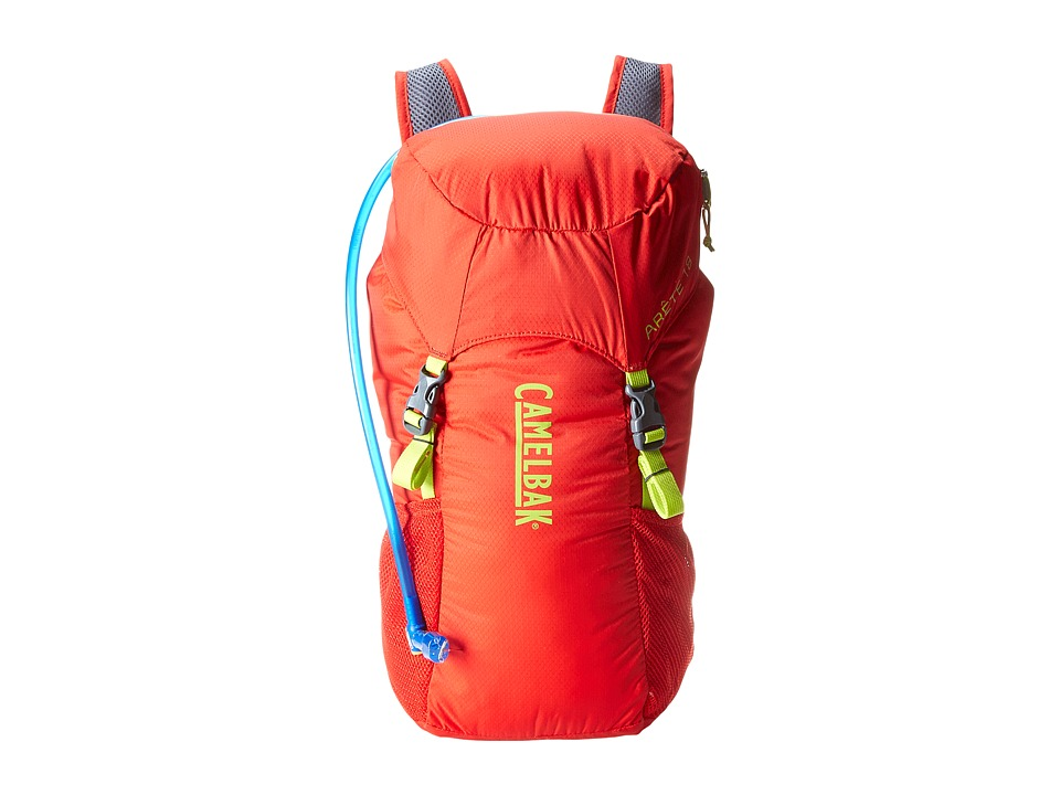 CamelBak Arete 18 70 oz Engine Red/Lime Punch Backpack Bags