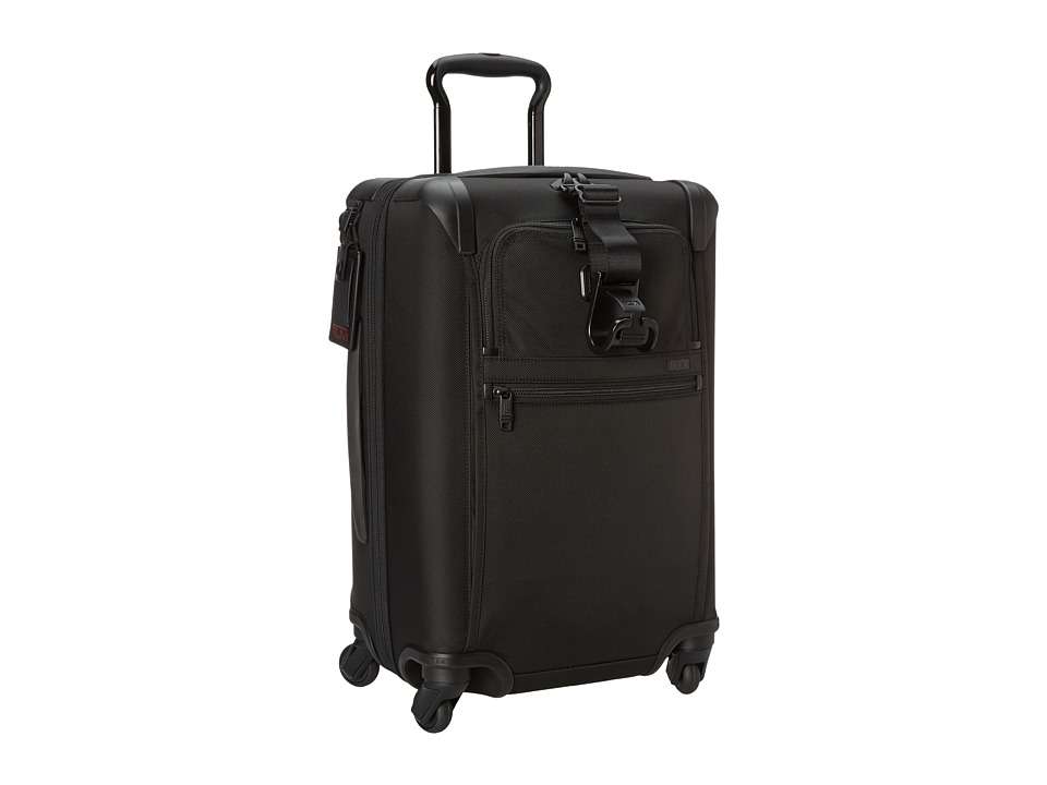 Tumi - Alpha 2 - International Expandable 4 Wheeled Carry-On (Black) Carry on Luggage