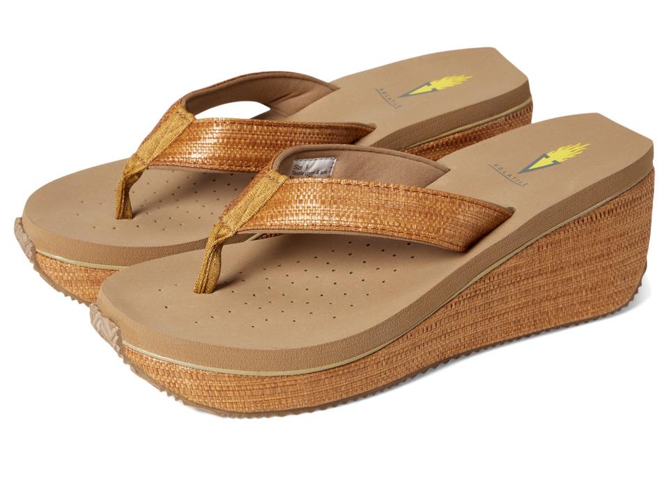 VOLATILE Bahama Tan Womens Sandals