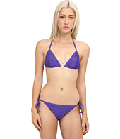 Emporio Armani - Plissè String Bikini with Hardware Detail
