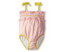 Fendi Kids - Baby Girl One Piece Swimsuit (Infant) (Orange) - Apparel<br />