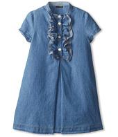 Fendi Kids - Girls S/S Chambray Dress (Little Kids)