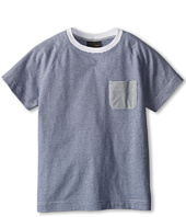 Fendi Kids - Boys S/S Stripe Tee (Little Kids)