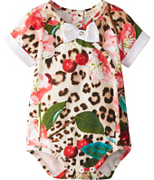Roberto Cavalli Kids - Baby Girl Print Crossover Body (Infant)