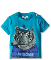 Roberto Cavalli Kids - Baby Boy S/S Tee With Tiger Graphic (Infant)