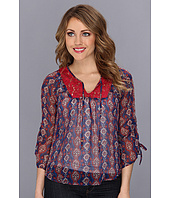 Lucky Brand - Laguna Mix Lace Top